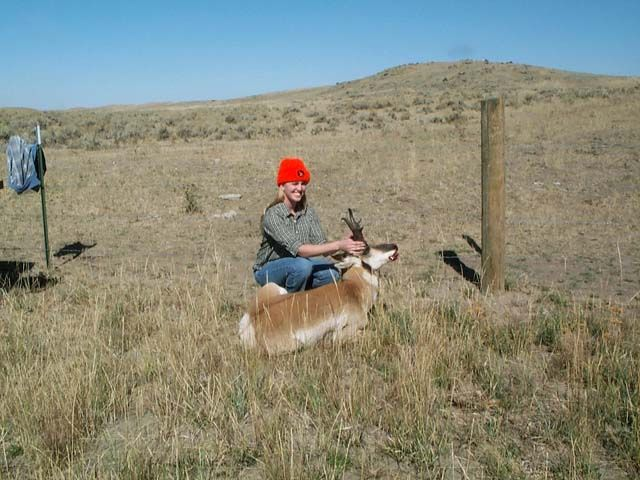 Wifes Wyoming Pronghorn 1/2