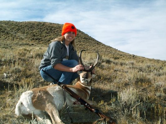 Wifes 2005 Wyoming Pronghorn