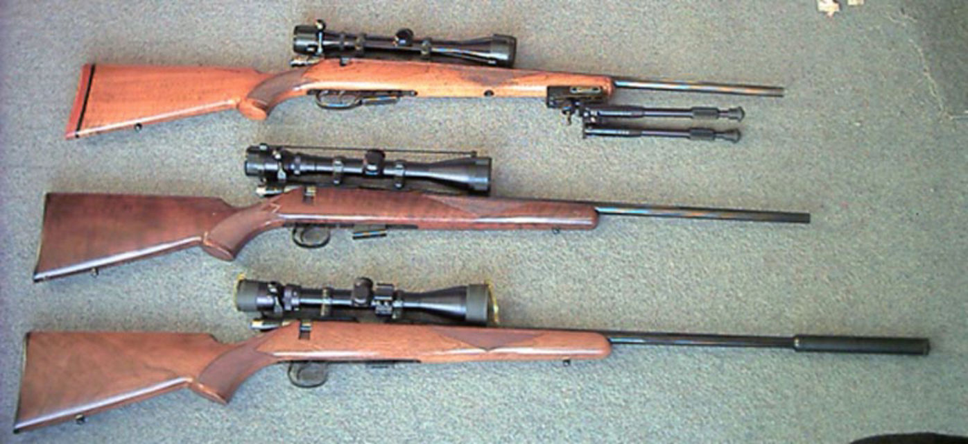 Three from the East Top        -        BRNO ZKW 465 22Hornet