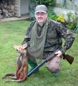 Me with my first Fox