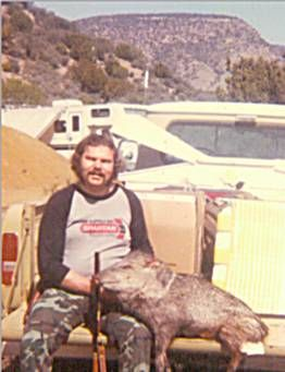 sdhunter8 Javalina was taken years ago with a muzzleloader.  I remember this hunt as if it happen yesterday.  This was my first hunt for Javalina and first hunt with a muzzleloader.