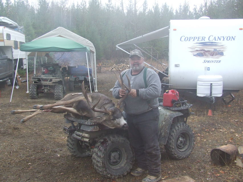Click to view full size image  ==============  2006_1018 188 net Brother's deer Oct. 2006