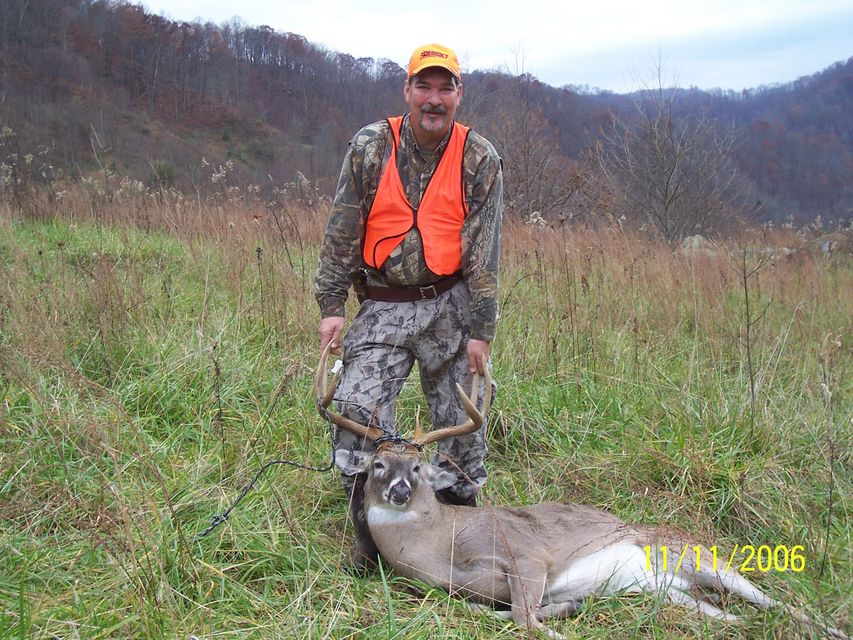 Click to view full size image  ==============  barnes x-bullet / 1 shot kill 06 opening day buck