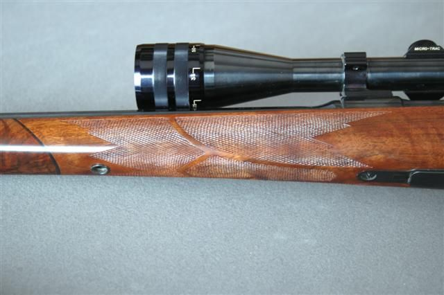 Finished forend checkring
