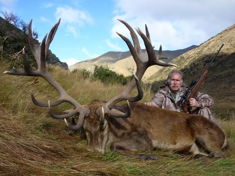 Red Stag Hunting with Gary Herbert