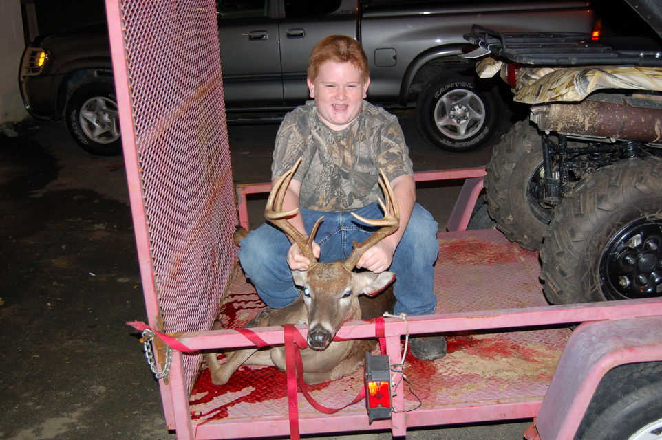 Click to view full size image  ==============  baby bro my baby bro first good buck holy trinity al 9pt