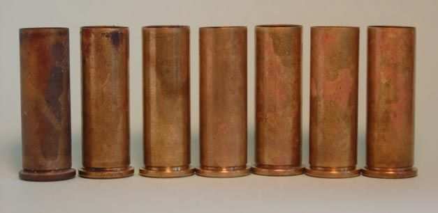 .38 Special cases cleaned with water and vinegar solution.  Un-cleaned, 2 minutes, 4 minutes, etc.
