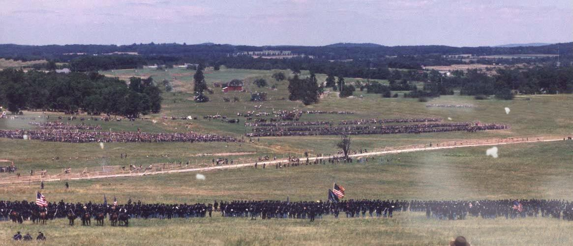 135th Anniversary of Gettysburg  Now this pic has been
