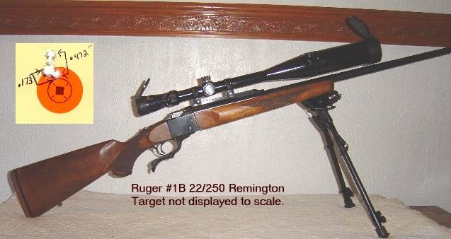 .22/250 Remington Ruger #1