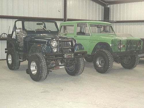 My 4x4,s 1980 CJ-5 and 1977 Bronco