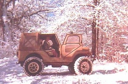 My Mom and my old Jeep