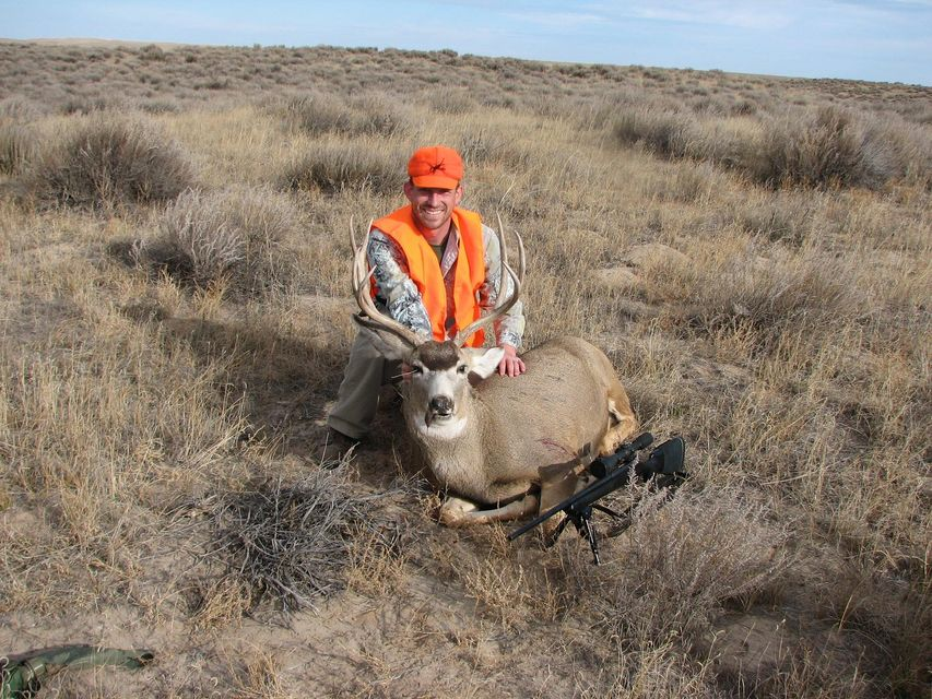 Click to view full size image  ==============  3x4 Western Nebraska 1st deer in 4 years due to Marine Corps