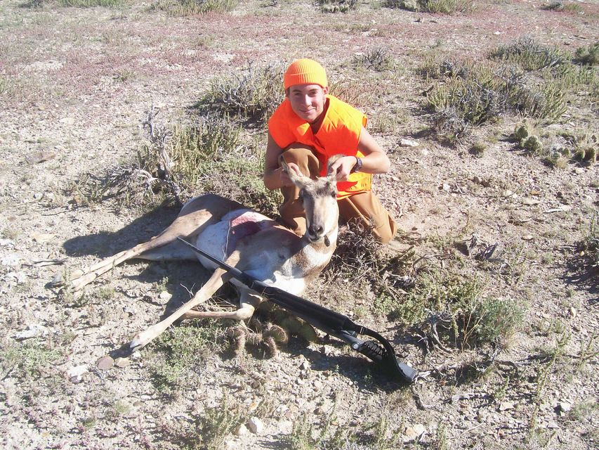 Click to view full size image  ==============  Wyoming Antelope My first mammal.