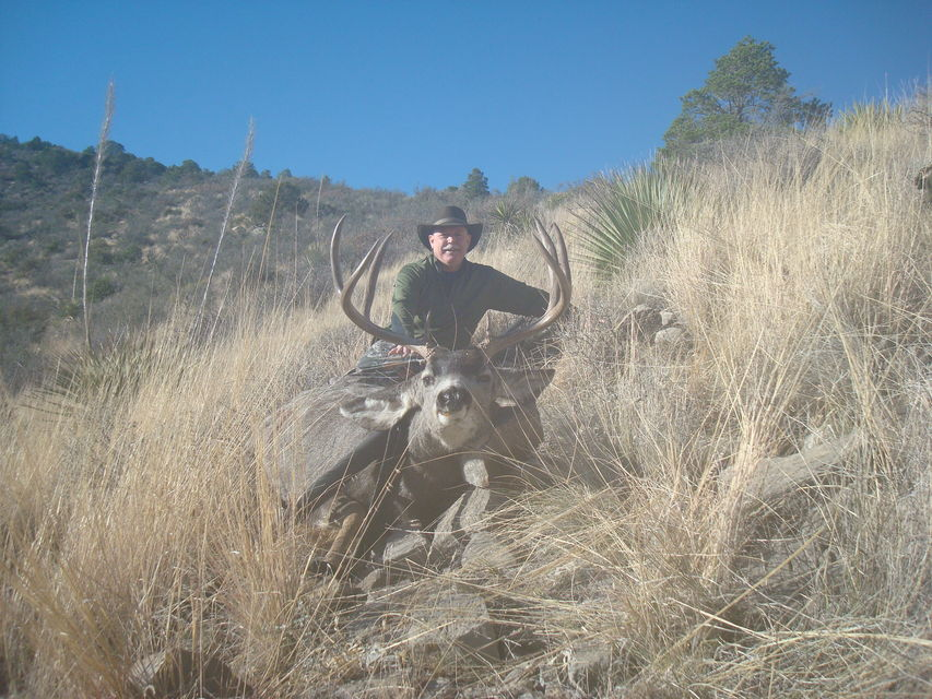 Click to view full size image  ==============  2009 New Mexico Public Land  Unit 34 Self Guided Hunt Shot in Lincoln National Forest just North and West of Cloucroft