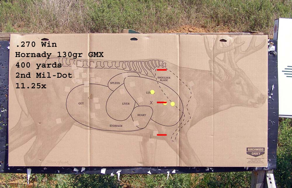 .270 win with hornady 130gr gmx at 400 yards - 2nd mil-dot on 11.25x.jpg