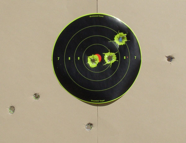 federal 20 ga slugs - 50 yards - 8-inch bullseye.jpg